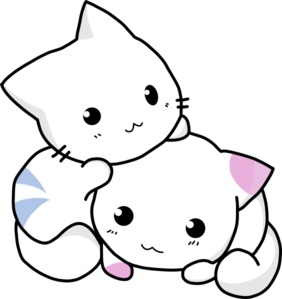 """Every """"brain bleeding"""" image was depressing, so here's a pair of kittens!"""